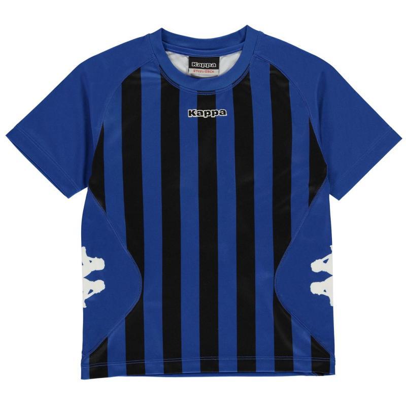 Tričko Kappa Barletta Short Sleeve T Shirt Junior Boys Nautic Blue/Whi
