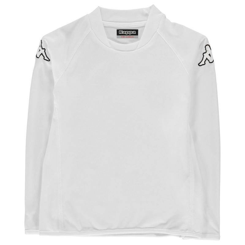 Tričko Kappa Masa Long Sleeve T Shirt Junior Boys Yellow