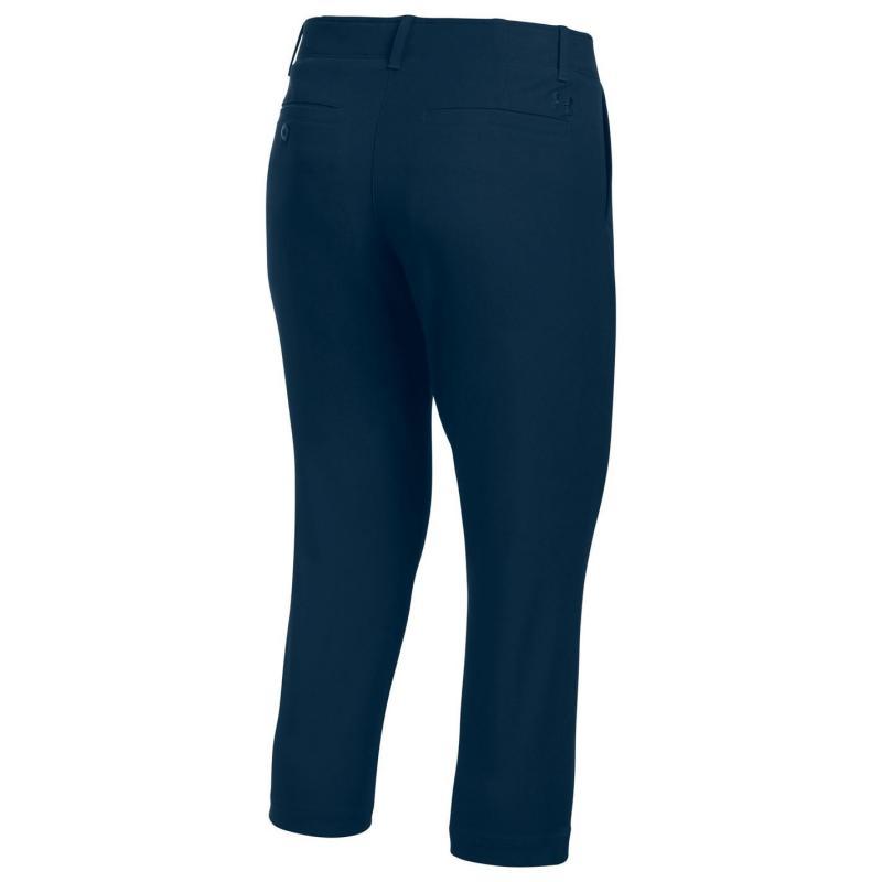 Kalhoty Under Armour Links Capri Trousers Ladies Navy