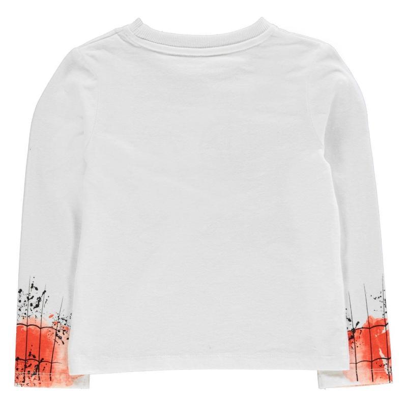 Tričko Character Long Sleeve T Shirt Boys Spiderman