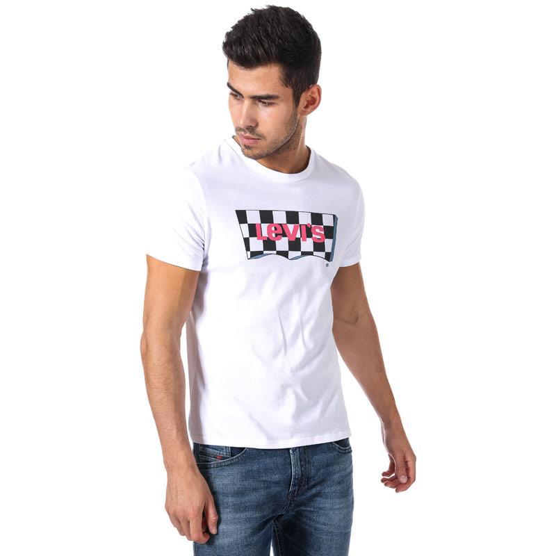 Tričko Levis Mens Housemark Graphic T-Shirt White
