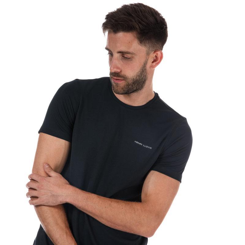Tričko Henri Lloyd Mens Pace Short Sleeve Simple T-Shirt Midnight