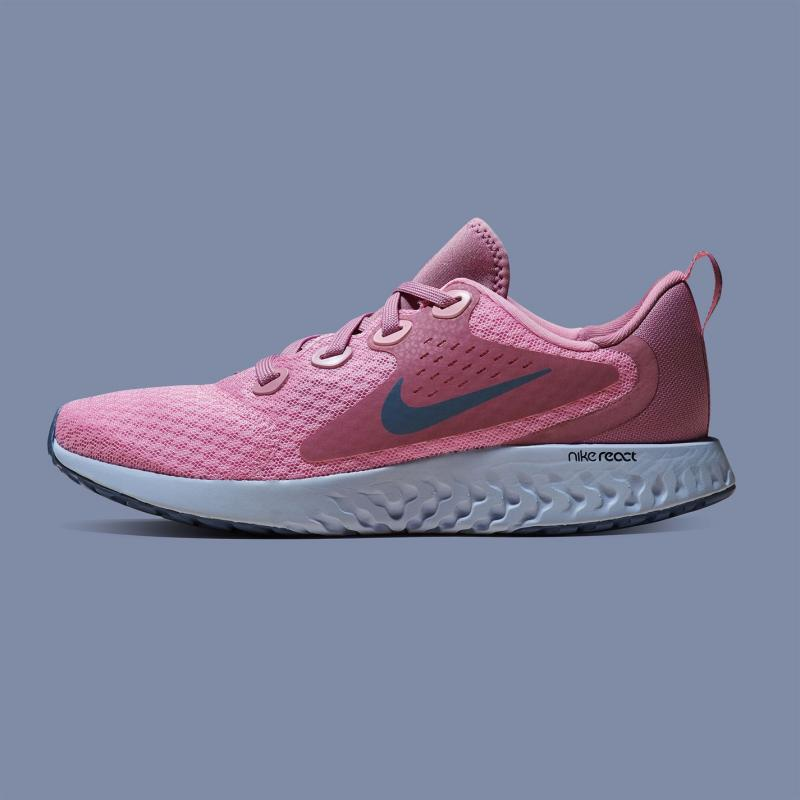 Nike Rebel React Trainers Junior Girls Pink