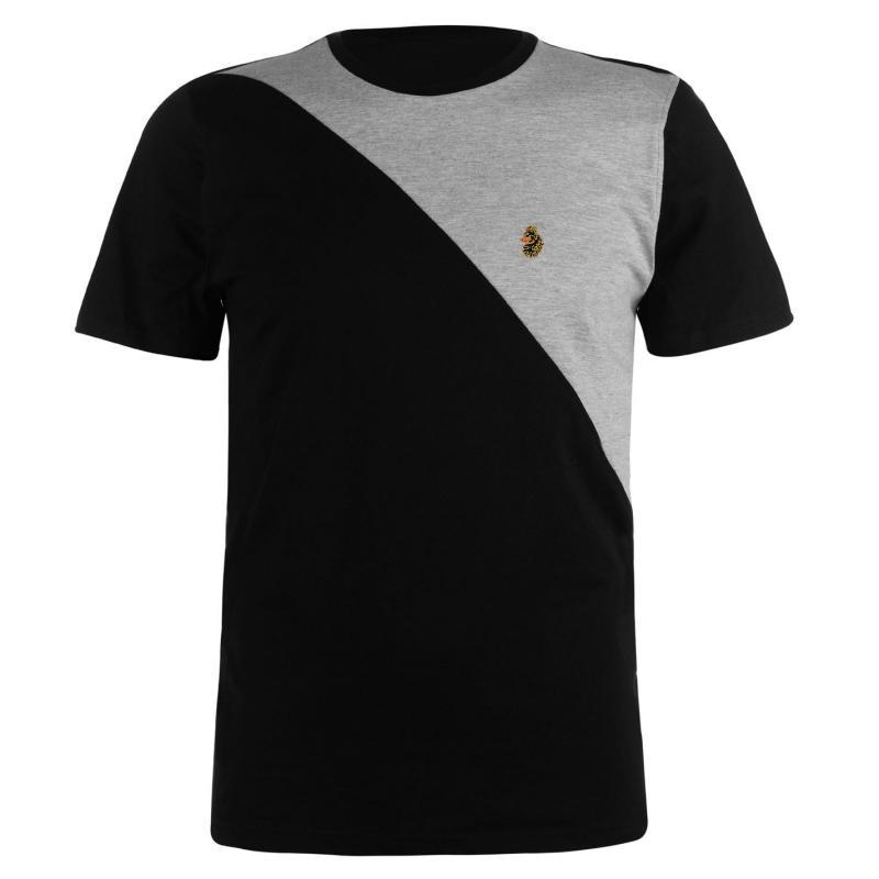Tričko Luke Sport Albert T Shirt Prussian Blue