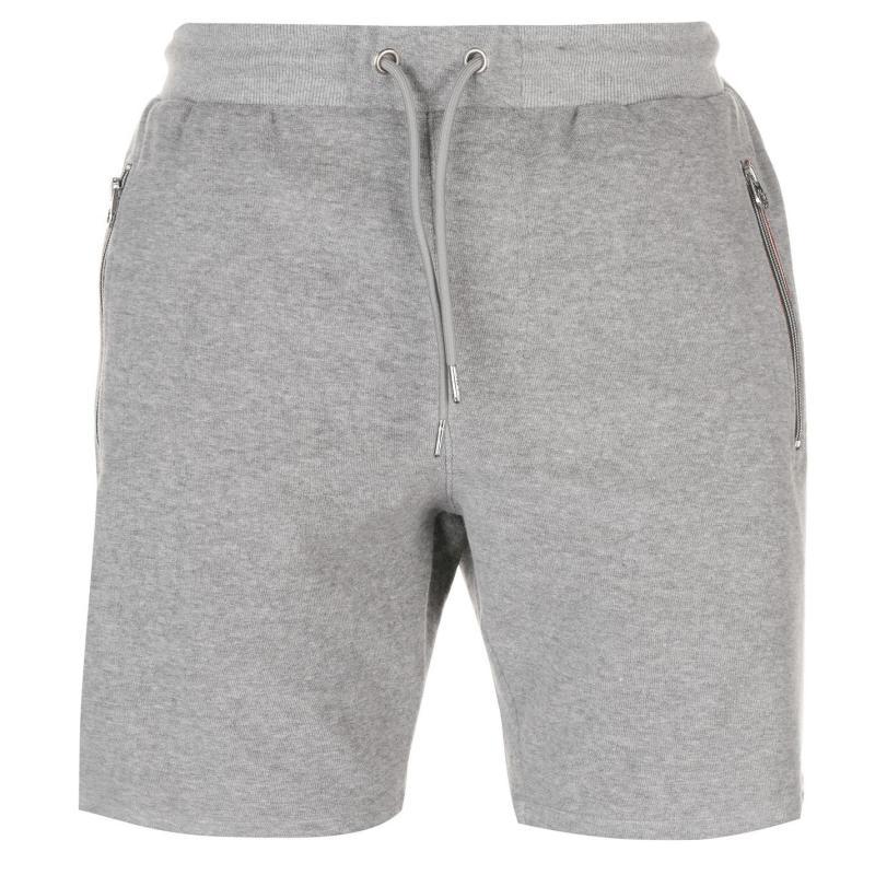 Luke Sport Monks Shorts Grey Marl