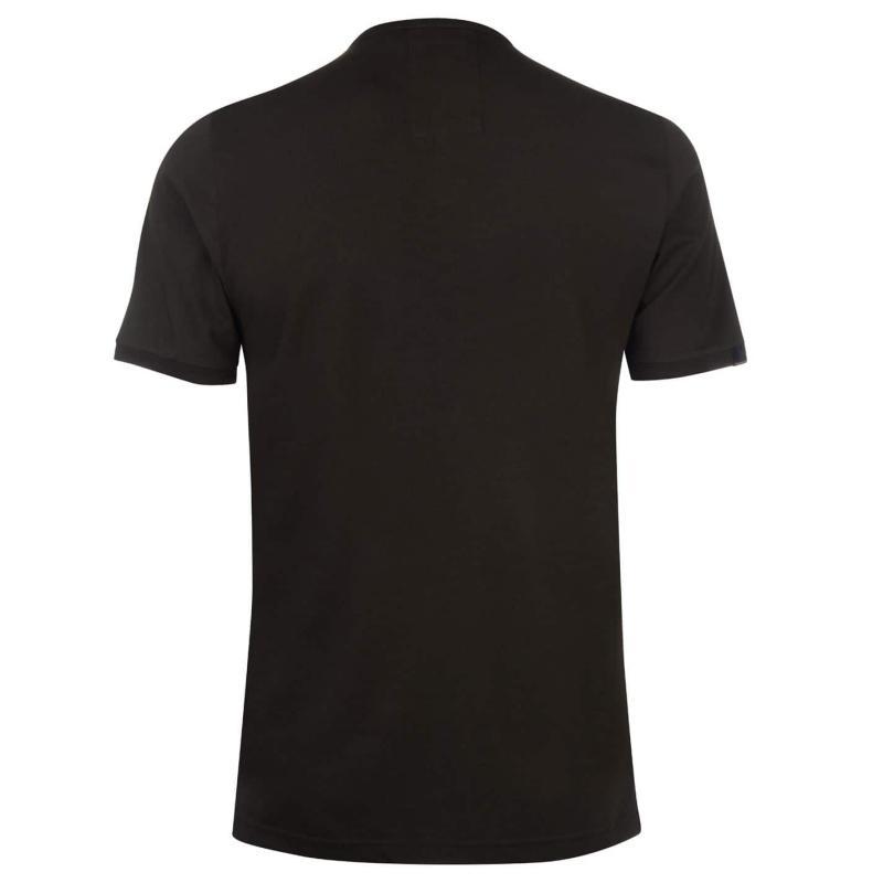 Tričko Luke Sport Traff Sport T Shirt Prussian Blue