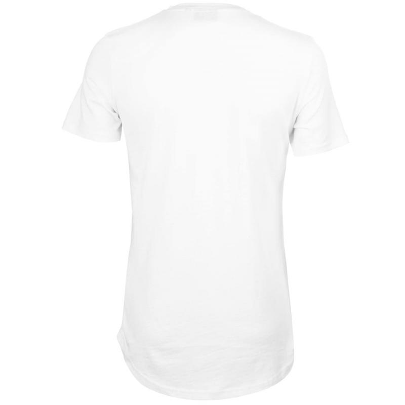 Tričko Level 1 Brisco T Shirt Mens White