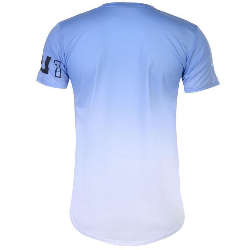 Tričko Level 1 Dudden T Shirt Mens Blue/White
