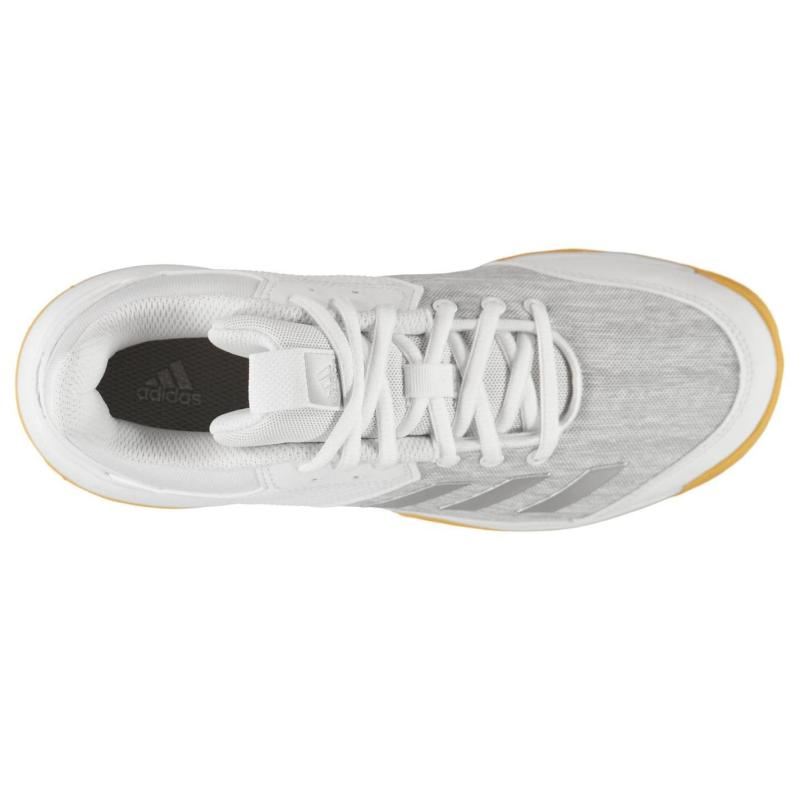 Adidas Ligra 6 Trainers Juniors White/Silver