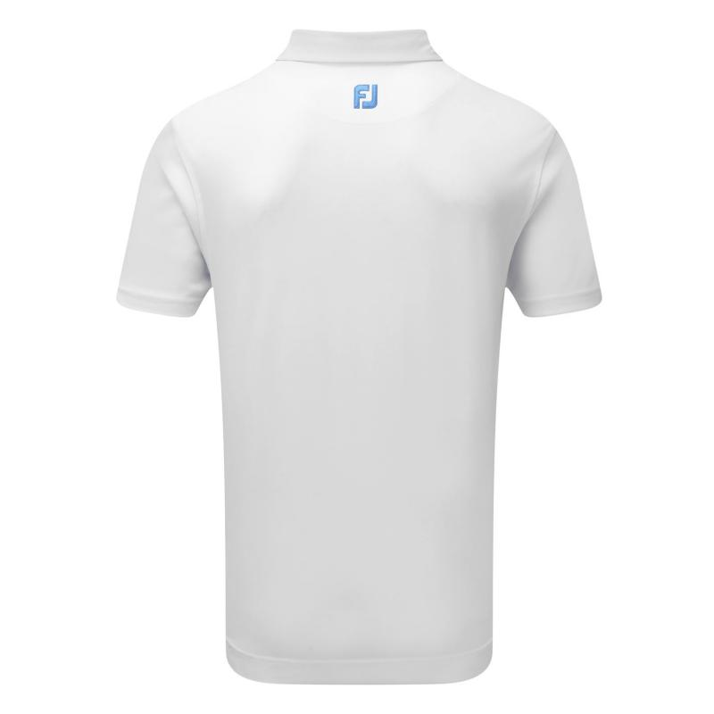 Footjoy Stretch Polo Snr 91 White