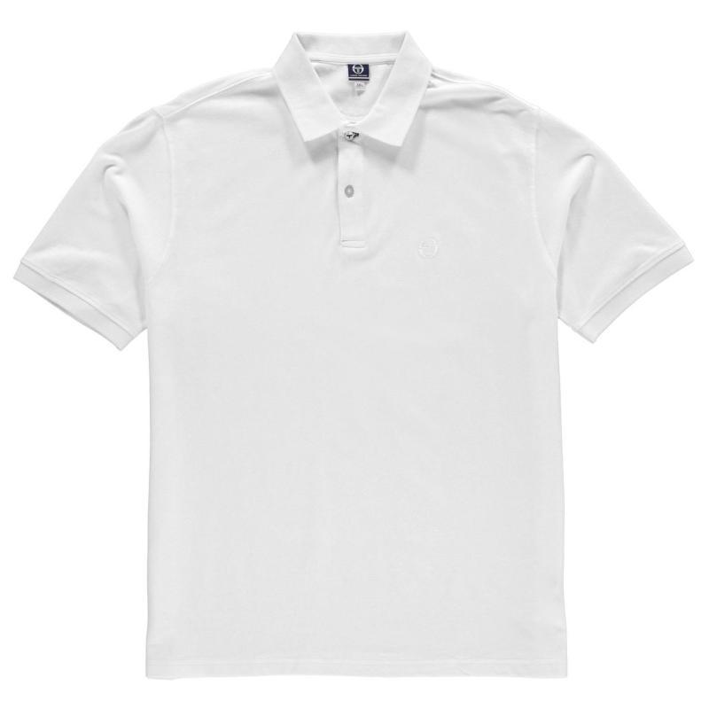 Sergio Tacchini Polo Shirt Mens White