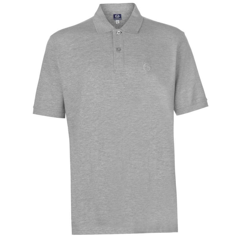 Sergio Tacchini Polo Shirt Mens Grey