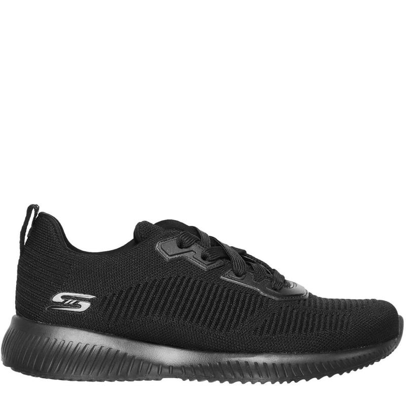 Skechers Bobsquad Trainers Ladies Black