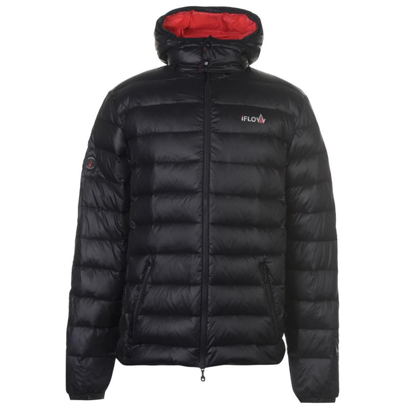 IFlow Black Serie Jacket Mens Black/Red