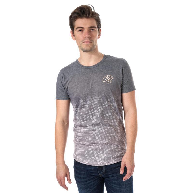 Tričko Crosshatch Mens Prenzlau T-Shirt Brown
