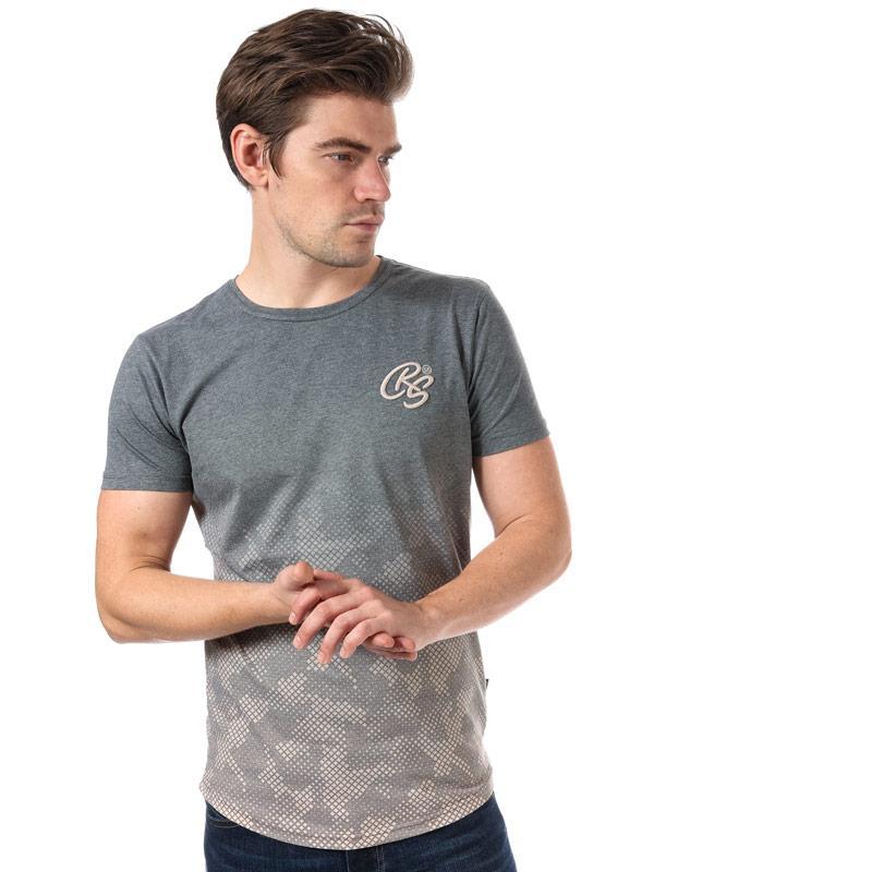 Tričko Crosshatch Black Label Mens Prenzlau T-Shirt Green