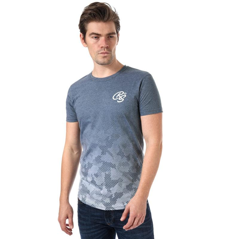 Tričko Crosshatch Black Label Mens Prenzlau T-Shirt Brown
