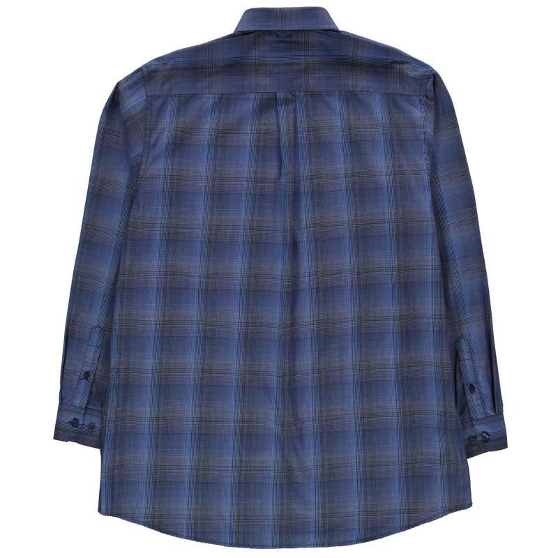 Fusion Overplaid Shirt Mens Royal