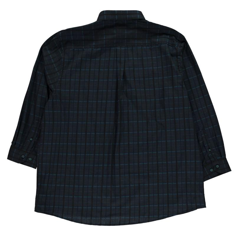 Fusion Square Tonal Shirt Mens Teal