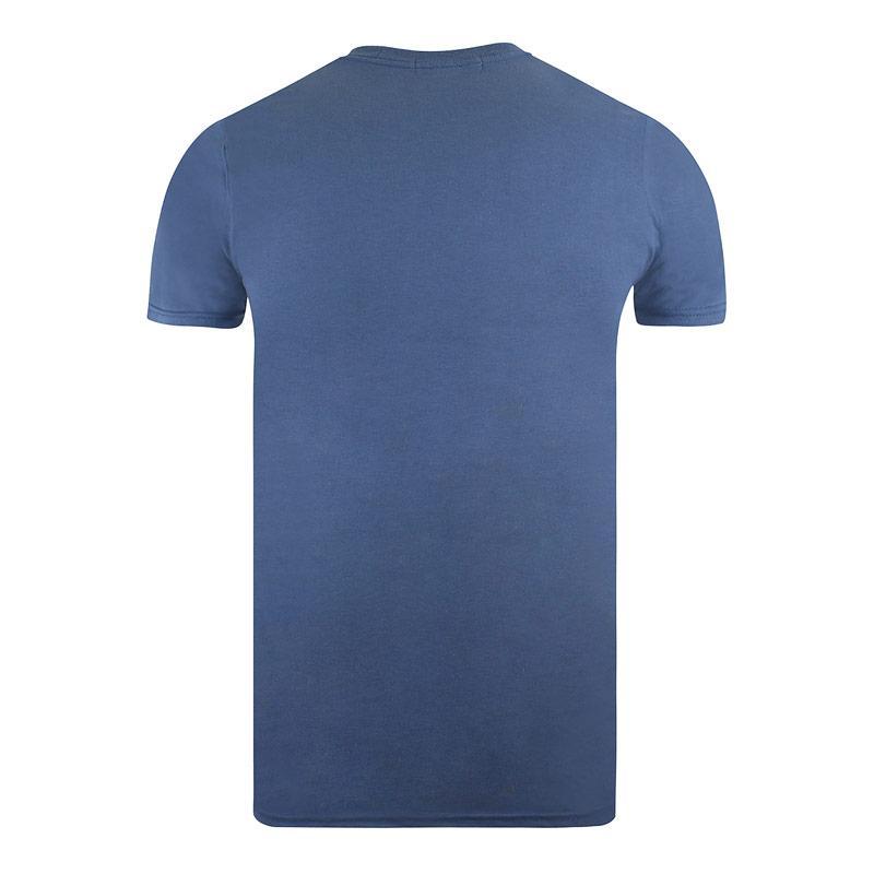 Tričko Forth & Lewis Mens Badge T-Shirt Indigo