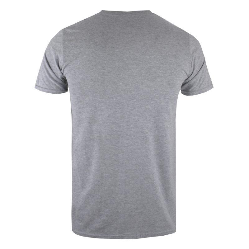 Tričko Forth & Lewis Mens Emblem T-Shirt Grey Heather