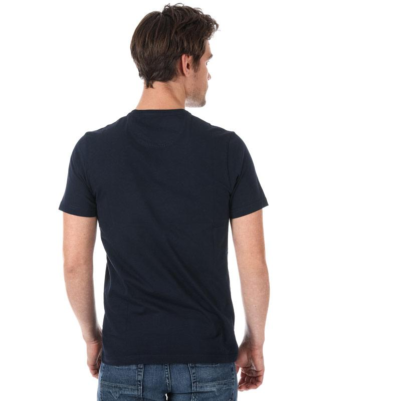 Tričko Henri Lloyd Mens Hurst Printed T-Shirt White