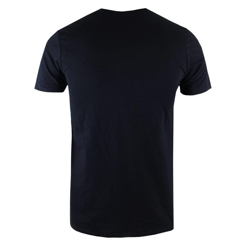 Tričko Forth & Lewis Mens Monogram T-Shirt Black