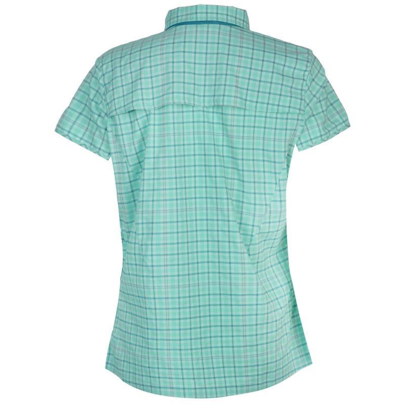 Košile Millet Castle Peak Shirt Ladies Pool Blue