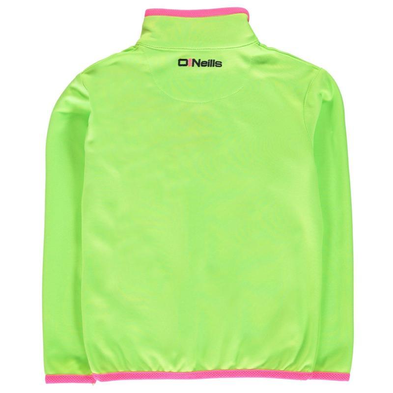 ONeills Armagh GAA Tivoli HZ Top Child Girls N Lime/F Pink/M