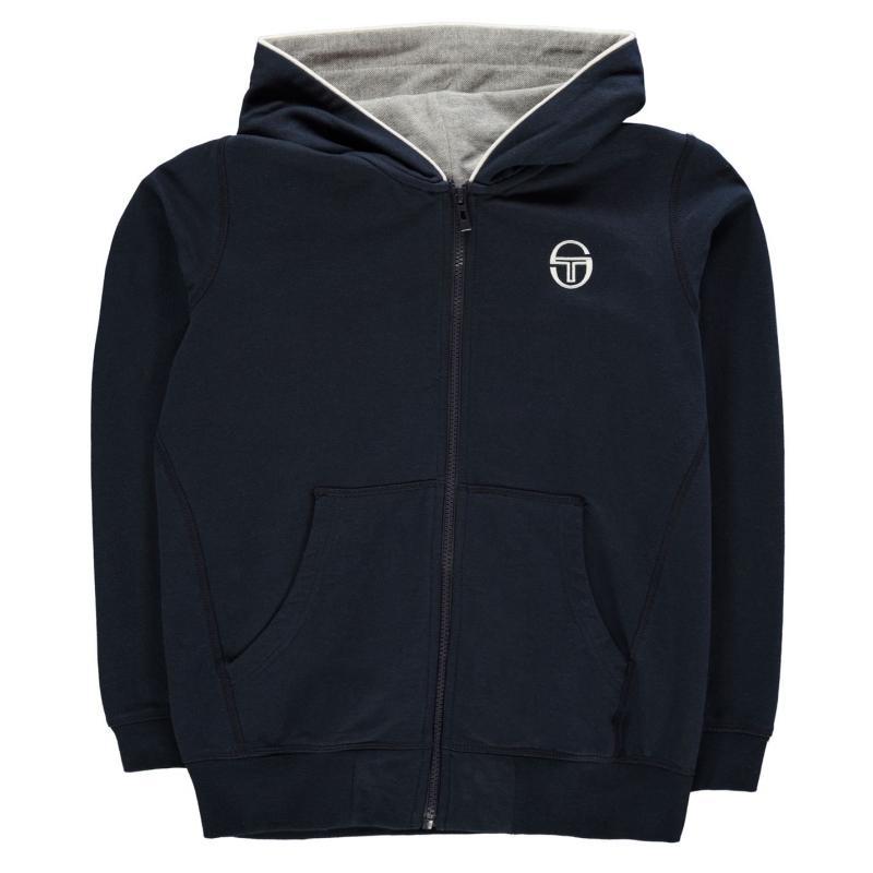 Mikina Sergio Tacchini Elbow Sweatshirt Junior Boys Navy
