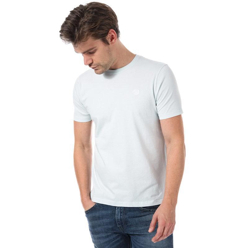 Tričko Henri Lloyd Mens Sardinia Regular T-Shirt Light Blue