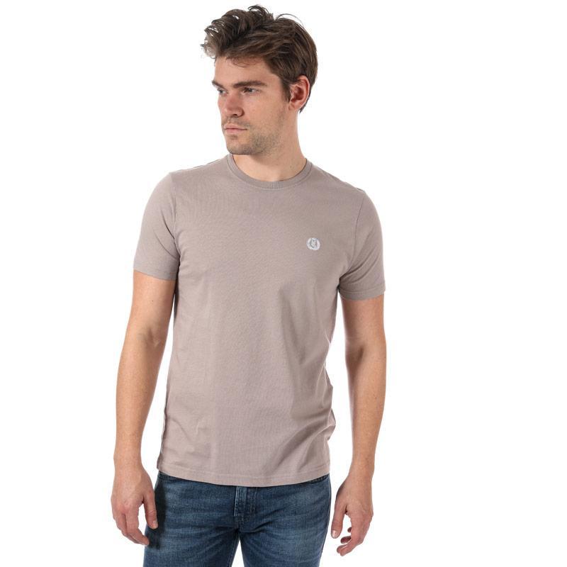 Tričko Henri Lloyd Mens Sardinia Regular T-Shirt Light Grey
