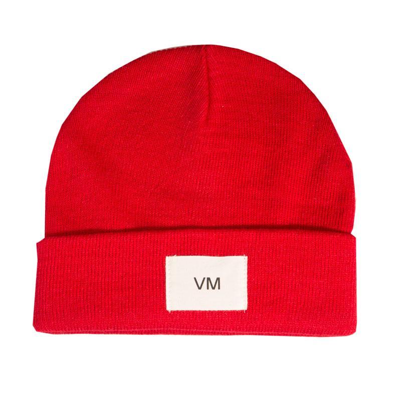 Vero Moda Womens Mari Beanie Hat Red