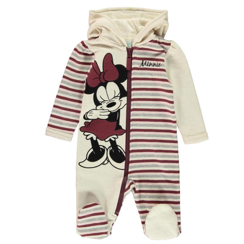 Pyžamo Character Fleece Onesie Baby Boys Mickey Mouse