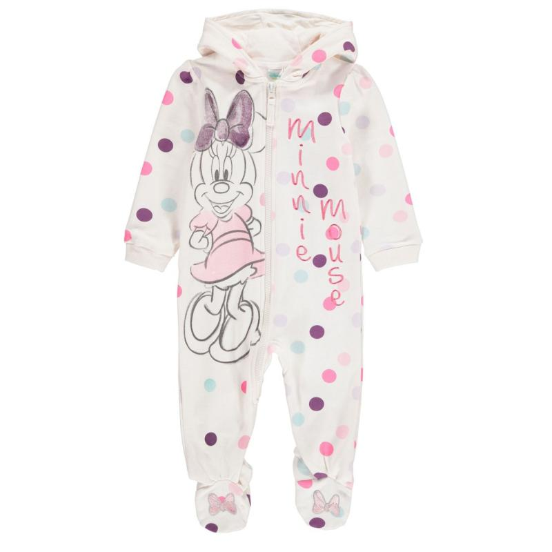 Pyžamo Character Fleece Onesie Baby Boys Minnie Mouse