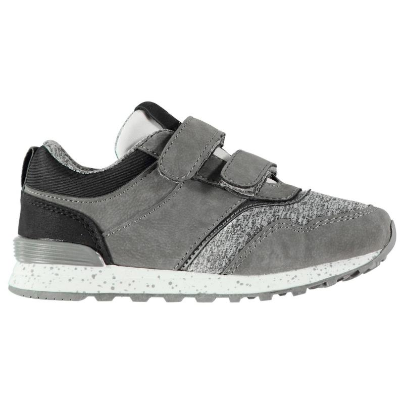 Boty Crafted Clip Infant Boys Trainers Grey
