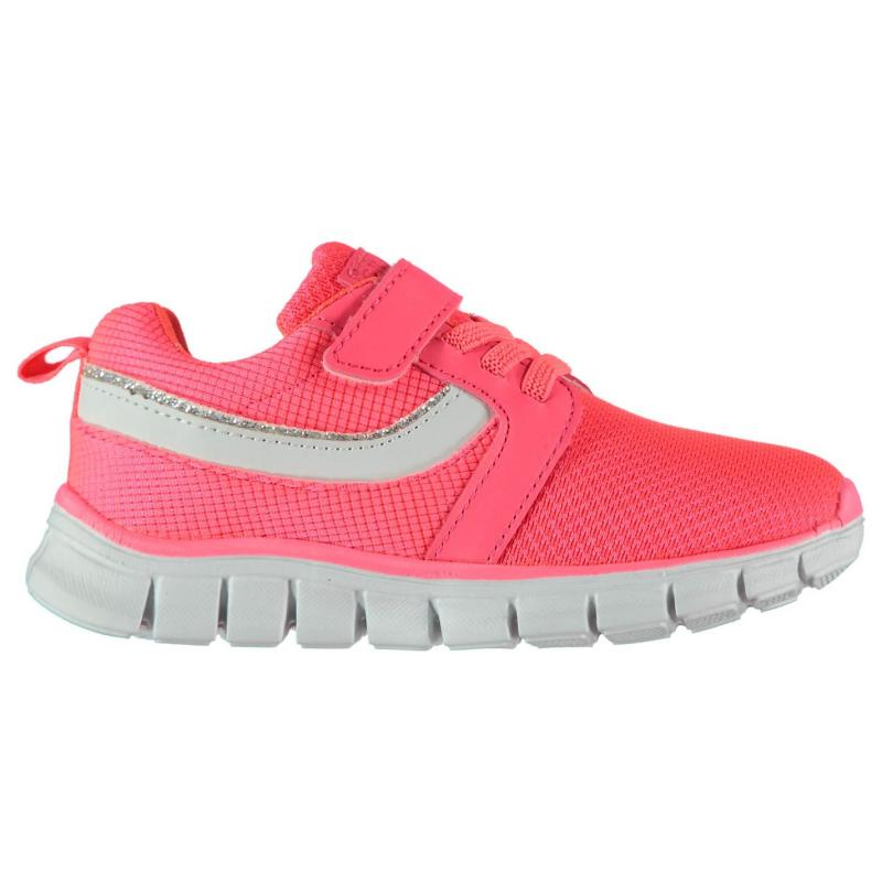 Crafted Laced Infants Trainers Coral