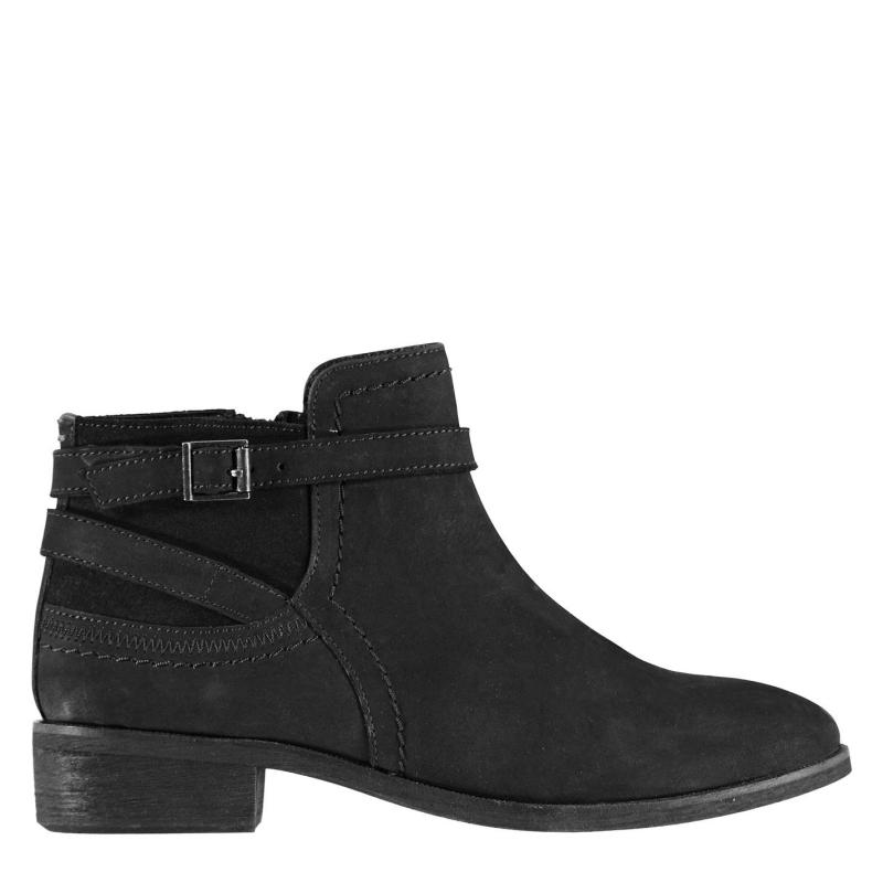 Firetrap Zura Ladies Ankle Boots Black