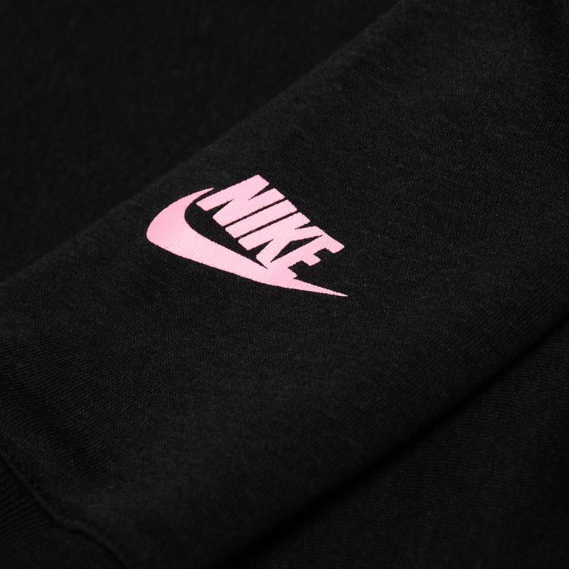 Nike Cropped Hoody Junior Girls Black