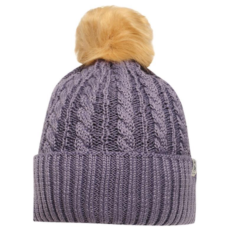 Requisite Ladies Bobble Hat Heather
