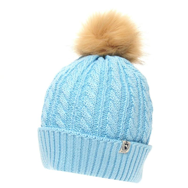 Requisite Ladies Bobble Hat Heather