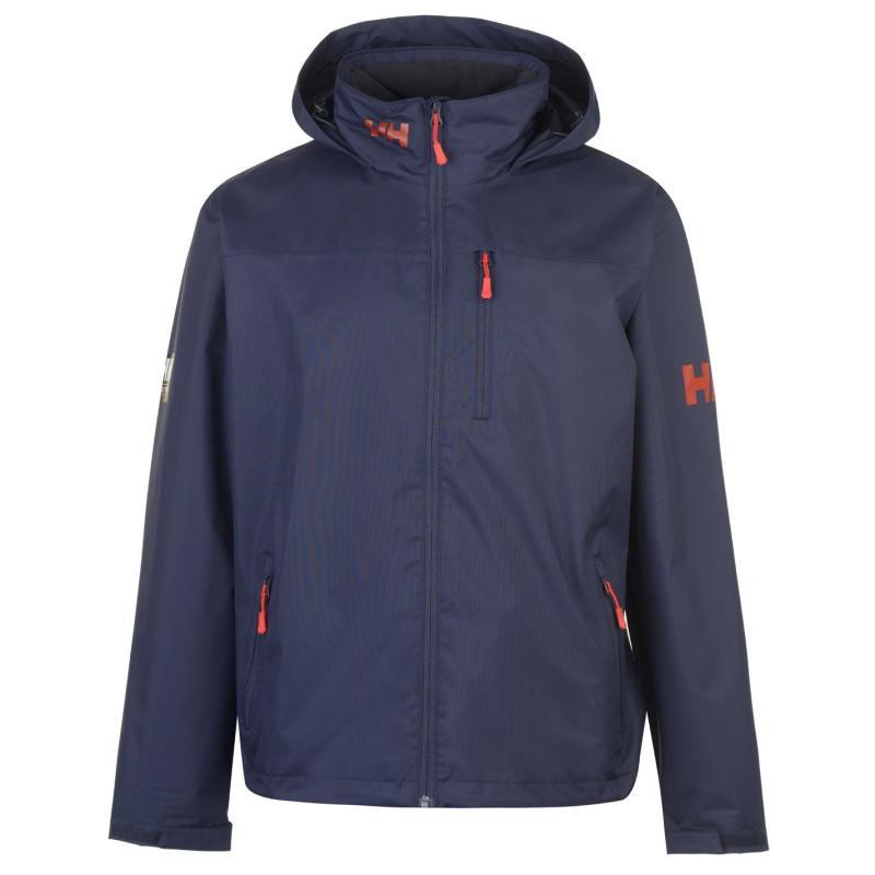 Helly Hansen Crew Hooded Midlayer Jacket Mens Graphite Blue