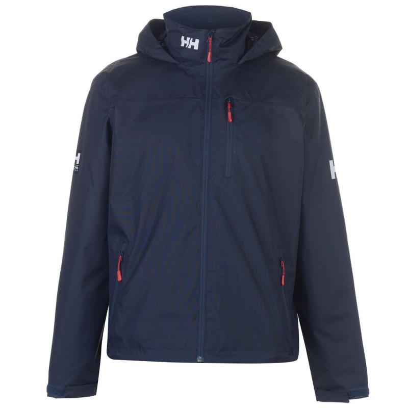 Helly Hansen Crew Hooded Midlayer Jacket Mens Navy