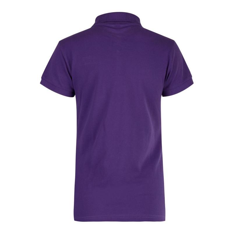 Polokošile Lee Cooper Classic Polo Shirt Ladies Purple