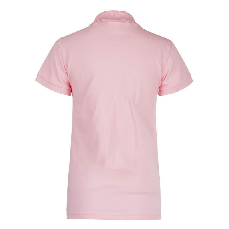 Polokošile Lee Cooper Classic Polo Shirt Ladies Pink
