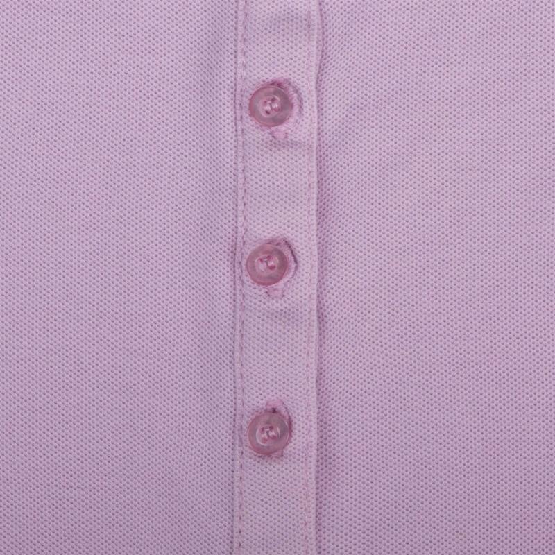 Polokošile Lee Cooper Plain Polo Shirt Ladies Lilac