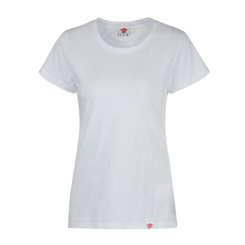 Lee Cooper Regular T Shirt Ladies White