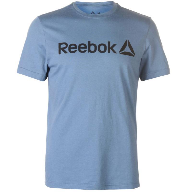 Tričko Reebok Delta Logo T Shirt Mens BlueSlate