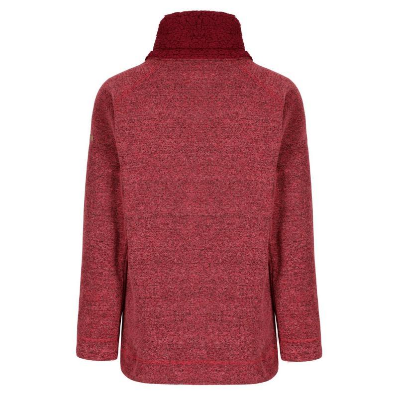 Mikina Regatta Haidee Fleece Ladies Rumba Red