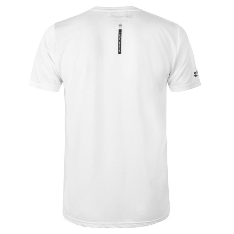 Tričko Skechers Graphic T Shirt Mens White